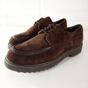 Hush Puppies Oxfords Womens Size 9EW Brown Shoes